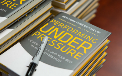 INC. Magazine-2015 TOP business bookPerforming Under Pressure: